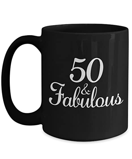 Amazon Gifts For 50 Year Old Woman Coffee Mug
