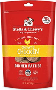 Stella & Chewy's Freeze-Dried Raw Dinner Patties