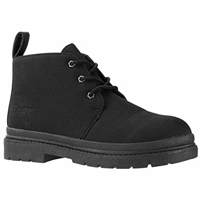 Men'S Lugz Black Boot Chukka Ripstop