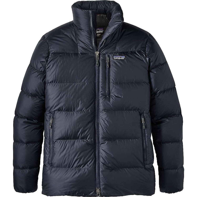 パタゴニア アウター ジャケットブルゾン Patagonia Men's Fitz Roy Down Jacket Smolder Bl 1t1 [並行輸入品] B074MY8H4V