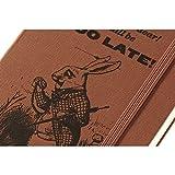 Moleskine Limited Edition Alice in Wonderland, 12 Month Daily Planner, Pocket, Coral Orange (3.5 x 5.5)