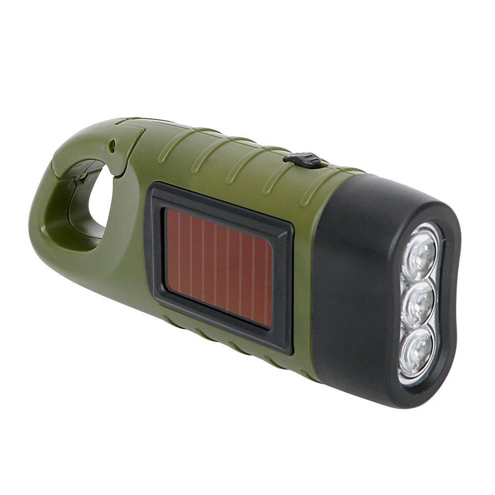 Tragbares Solar Power Taschenlampe Laterne für Outdoor Camping Bergsteigen Zelt Licht Hand Kurbel Dynamo LED-Taschenlampe Professional