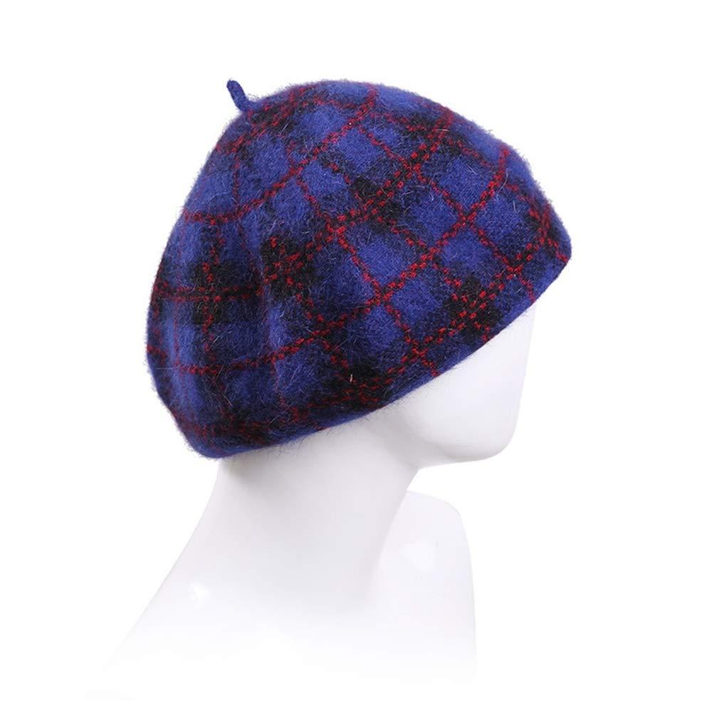 L&L Sombrero Sombrero de Mujer Moda otoño e Invierno Boina Salvaje ...