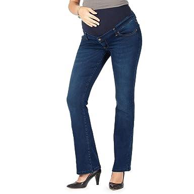 sito affidabile 856ff 59663 MAMAJEANS Torino Deluxe - Jeans Premaman Svasati, Modello Zampa di  Elefante, Fascia Elasticizzata - Made in Italy