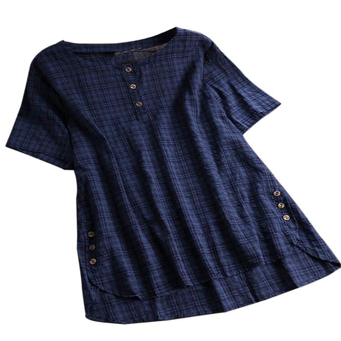 UK Womens Floral Striped Blouse Ladies Summer Beach Tunic Dress Plus Size 6-22