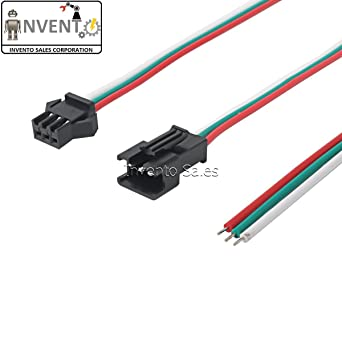 INVENTO ISC 971 Pin Male & JST Connectors Lock Type 3 wire (Blue) on electrical wire connectors, clips for wiring, electrical cable connectors, tools for wiring, electrical connectors plugs, electrical wiring 3 wire plug, electrical wiring couplers, lighting for wiring, epoxy for wiring,