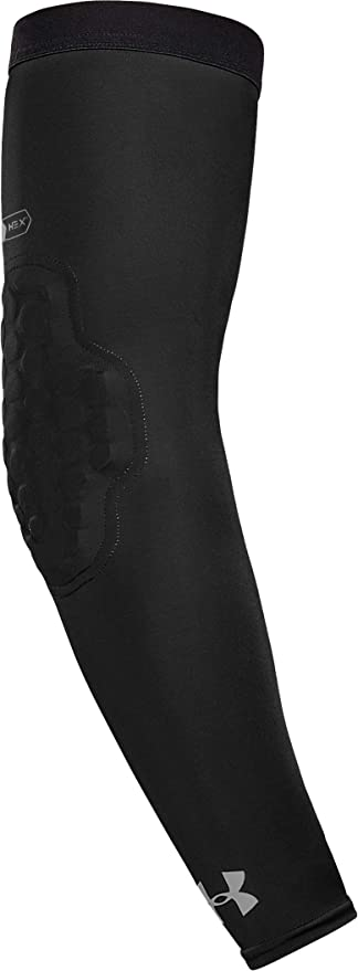 Basketball Volleyball and More Youth /& Adult Sizes Under Armour Pro Hex Padded Elbow Sleeves for Football Sold as Single