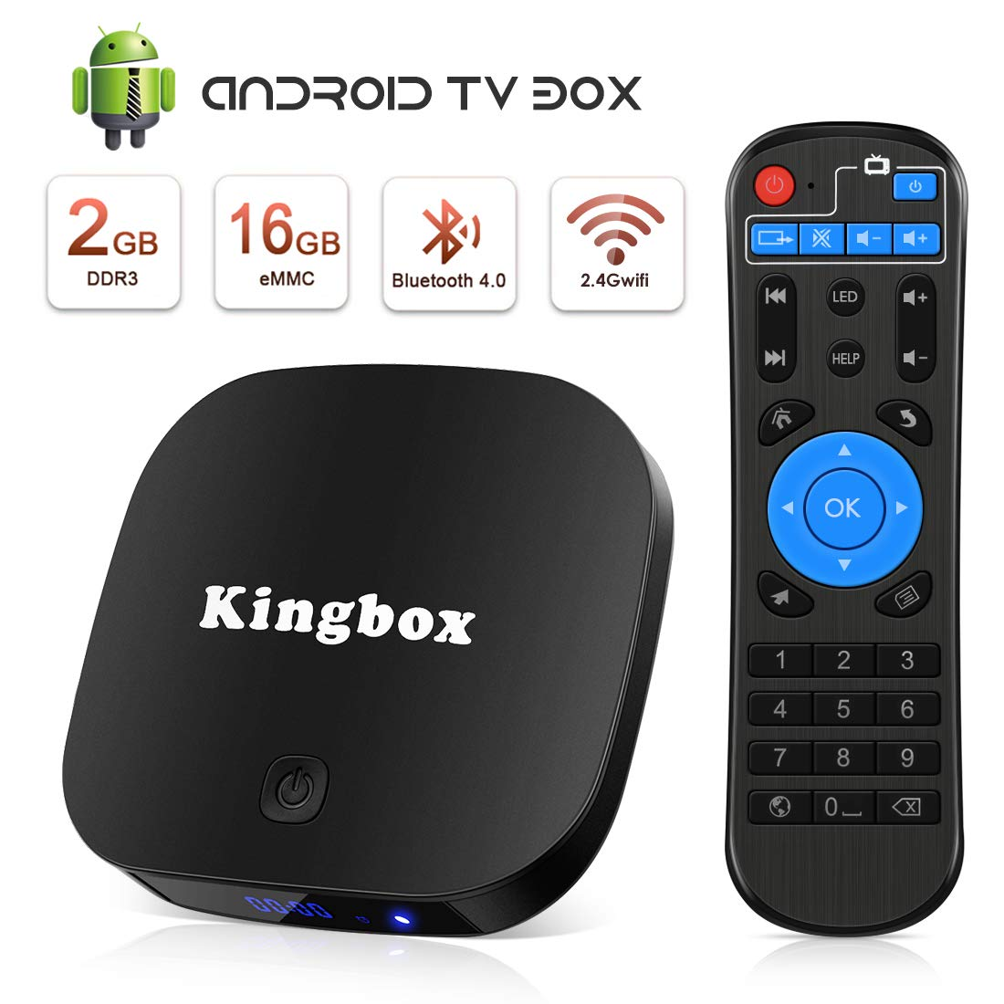 Android TV Box, Smart TV Box Quad Core