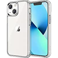 JETech Case Compatible with iPhone 13 6.1-Inch, Shockproof Bumper Cover, Anti-Scratch Clear Back, HD Clear