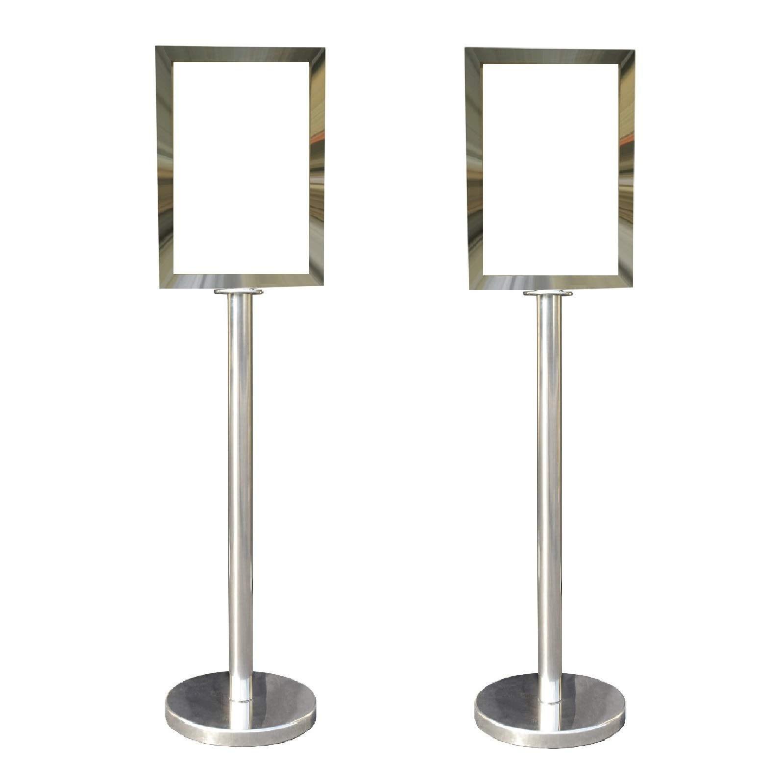 Mirror Rope Stanchion in 3 pcs Set, VIP Crowd Control (Display Stanchion) by VIP Crowd Control