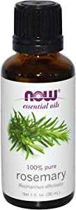 NOW Essential Oils, Rosemary Oil, Purifying Aromatherapy Scent, Steam Distilled, 100% Pure, Vegan, 1-Ounce
