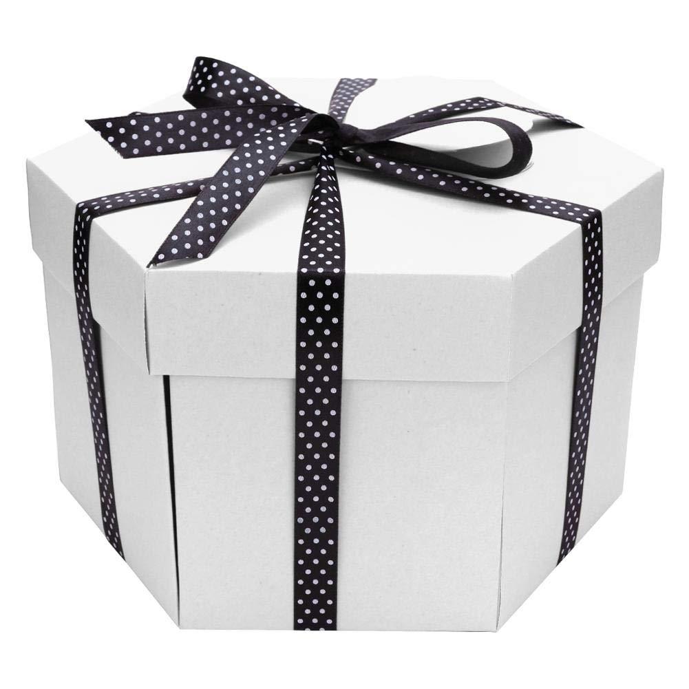 Everpertuk Explosion Box Caja Creativa Regalo de Caja de Scrapbooking /Álbum de Fotos Hexagonal DIY
