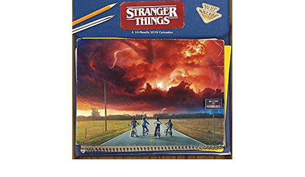 Stranger Things 2019 Wall Calendar: Amazon.es: Trends ...