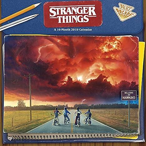 2019 Stranger Things Wall Calendar: Trends International ...