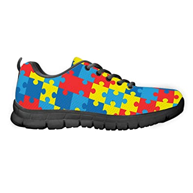36445b10829ee0 Gnarly Tees Men s Autism Awareness Shoes