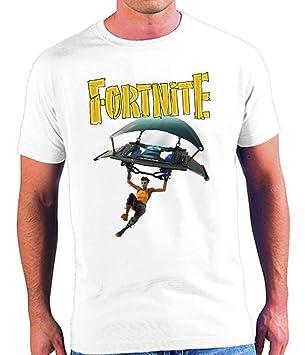 Mx Games Camiseta FORTNITE Aterrizaje Tallas niños y Adultos (XS): Amazon.es: Juguetes y juegos