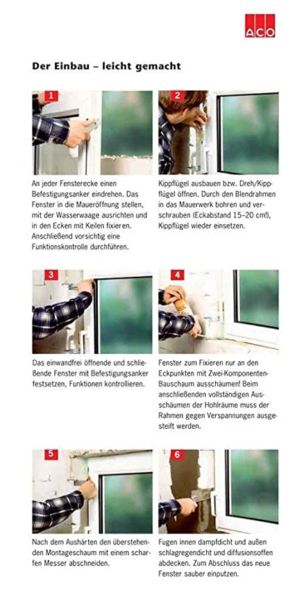 ACO 80cm Nebenraumfenster Kippfl/ügel Einfachglas Fenster wei/ß Kippfenster Keller Gr/ö/ße Kippfenster:80 x 60 cm
