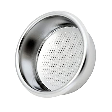 D DOLITY Filtro Poroso Durable Reutilizable de Acero Inoxidable para Cafetera Express