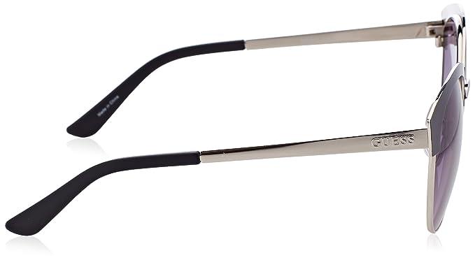 Guess Unisex-Erwachsene Sonnenbrille GF0316, Schwarz (Nero/Grigio), 52