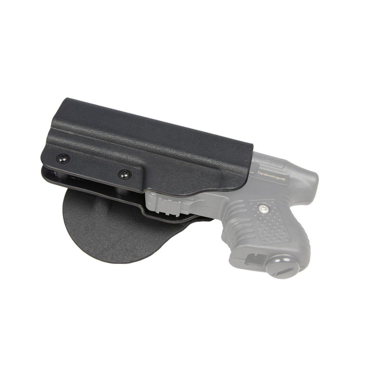 Paddleholster für JPX Jet Protector Linkshänder Pfefferspraypistole Holster