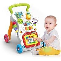 Aarna's Baby Kids Walkers Toy Cartoon Walker Stroller Multifunctional Baby Toddler Musical Toy