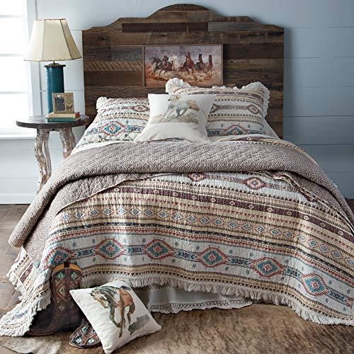 Indian Summer Ruffle Bedding Set (Full/Queen) (Western Full Comforter Set)