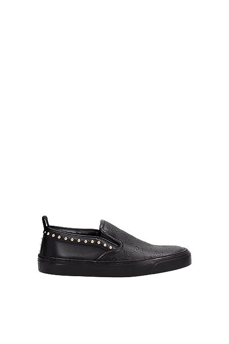 Zapatillas sin Cordones Gucci Mujer - Piel (385758AZW301000) EU: Amazon.es: Zapatos y complementos