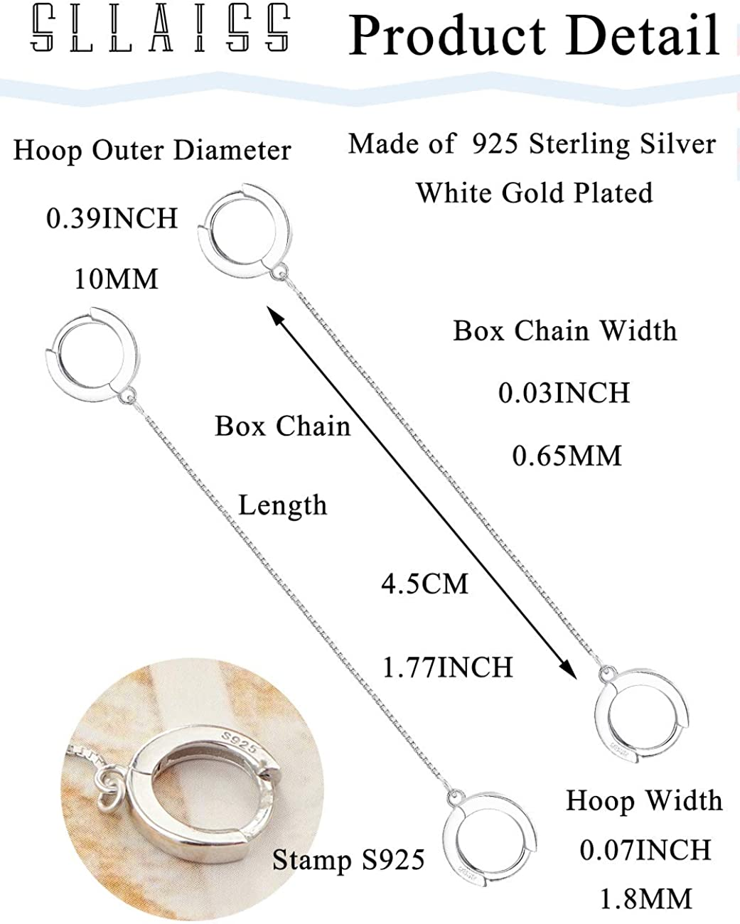 14K Gold Filled and Sterling silver 925 Laser Beads Dangle Multiple Circle Simple Hammered Hoop Long Earrings AL8