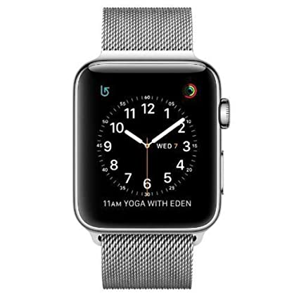 Amazoncom Apple Watch Series 2 42mm Stainless Steel Case