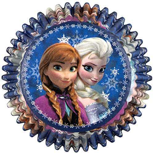 Wilton 415-4500 50 Count Disney Frozen Baking Cups ()