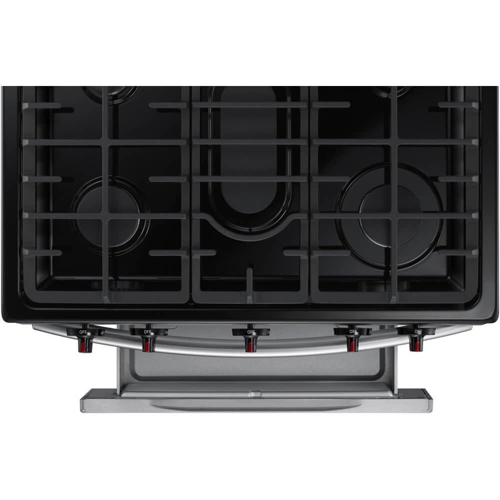 Amazon.com: Samsung NX58K3310SS / NX58K3310SS/AA / NX58K3310SS/AA 5.8 Cu. Ft. 5 Burner Stainless Gas Range: Appliances