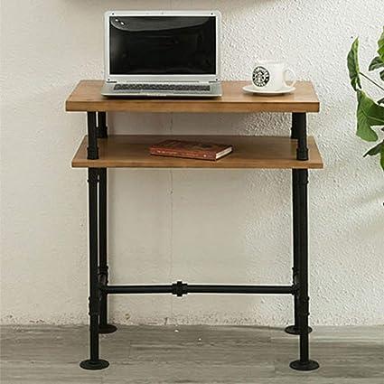 MZGH ISLAND - Mesa de escritorio para ordenador de escritorio de 2 ...