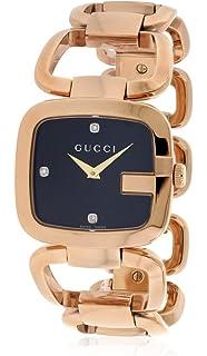 06ff8310897 Amazon.com  Gucci G-Gucci Mother of Pearl Dial Gold-Tone SS Quartz ...