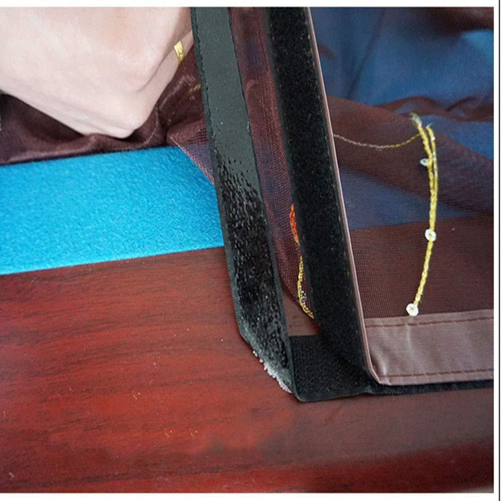 SKY FLY Cortina Mosquitera Magn/ética para Puertas,Heavy Duty Reforzado con Malla De Velcro Marco Completo Protecci/ón contra Insectos Mascota Amigable Mosquitera Puerta Magnetica,A-80 200CM