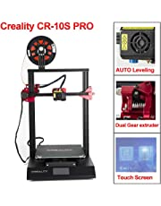 CCTREE Creality CR-10S Pro with Auto-Level, Touch Screen, Large Build Size 3D Printer 310mmx320mmx400mm with Capricorn PTFE and Bondtech Extruder Gears
