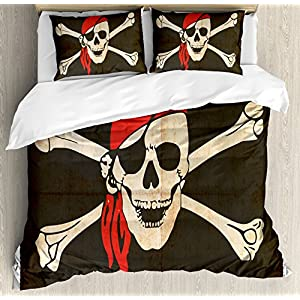 61V1%2BesG86L._SS300_ Pirate Bedding Sets and Pirate Comforter Sets