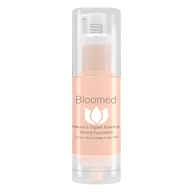 Liquid Foundation Organic Makeup - Best Vegan All Natural Gluten Free Aloe Base Liquid Foundation For Mature Skin (Magnolita)