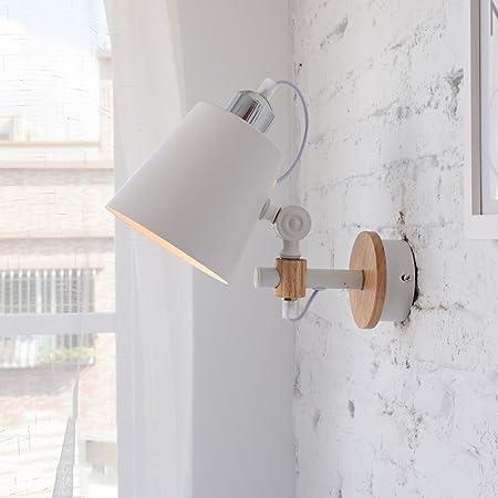 Ajustable Vintage metal lámpara de pared país americano lámpara de cabecera Habitación infantil luz de noche estudio luz de lectura para escalera pasillo cocina apliques de luz de pared: Amazon.es: Hogar