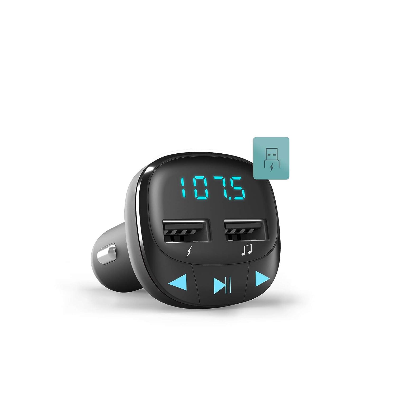 Energy Sistem Energy Car FM Transmisor FM para veh/ículos Negro microSD, Carga USB, USB MP3