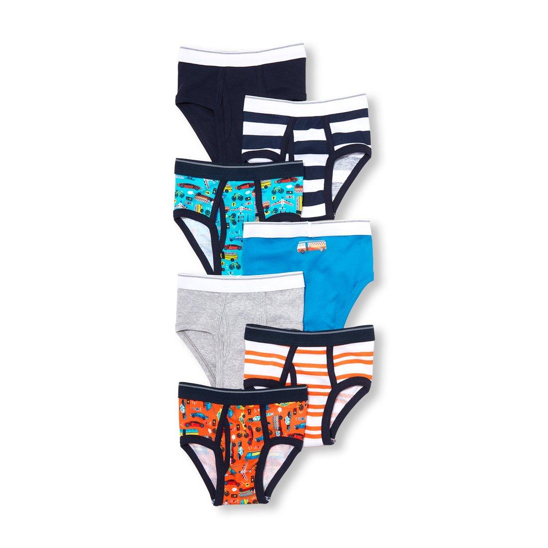 The Childrens Place Boys 7 Pack Brief Underwear