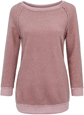 Kinghard/® Women Autumn Winter Casual Hoodies Long Sleeve Sweatshirt