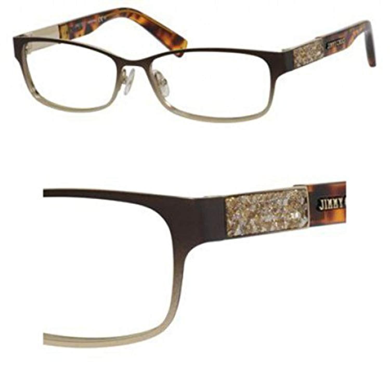 8c76b6db576c Jimmy Choo 124 Eyeglasses Color 0VUQ 00 at Amazon Women s Clothing store