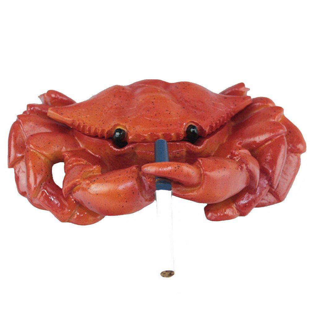 Sumperth Fashion Creative Crab Resin Cigarette Ashtray Animal Decorative Office Home Cigarette Ashtray