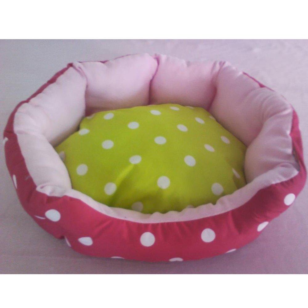 A 484015cm A 484015cm Weiwei Dog Bed Cloth Kennel Wave dot Print Short Hair cat Litter Pet Litter mat