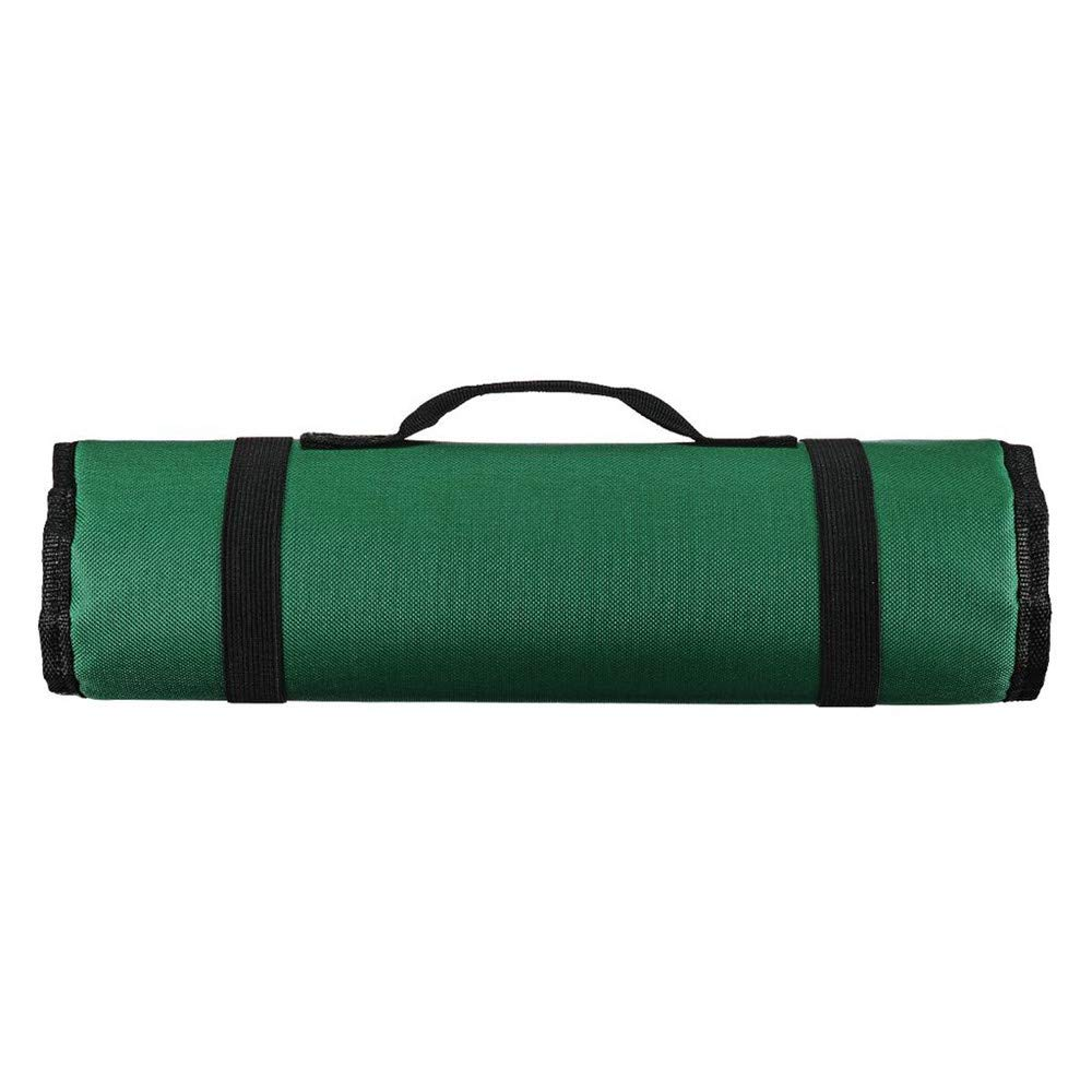 bolsa para reparaci/ón de chef Bolsa de herramientas con 22 bolsillos port/átil para almacenamiento de llaves plegables negro