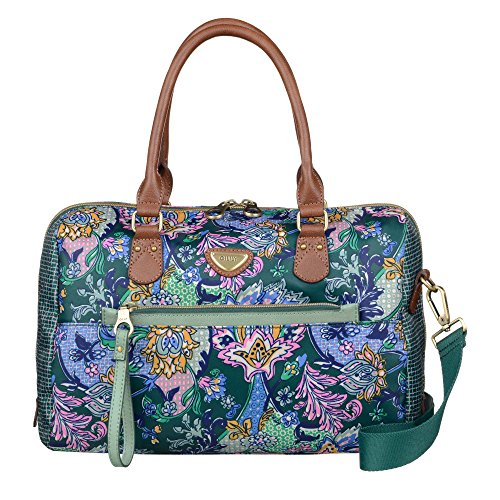 M Paisley Bag Oilily Emerald Boston French qEOfwAZ
