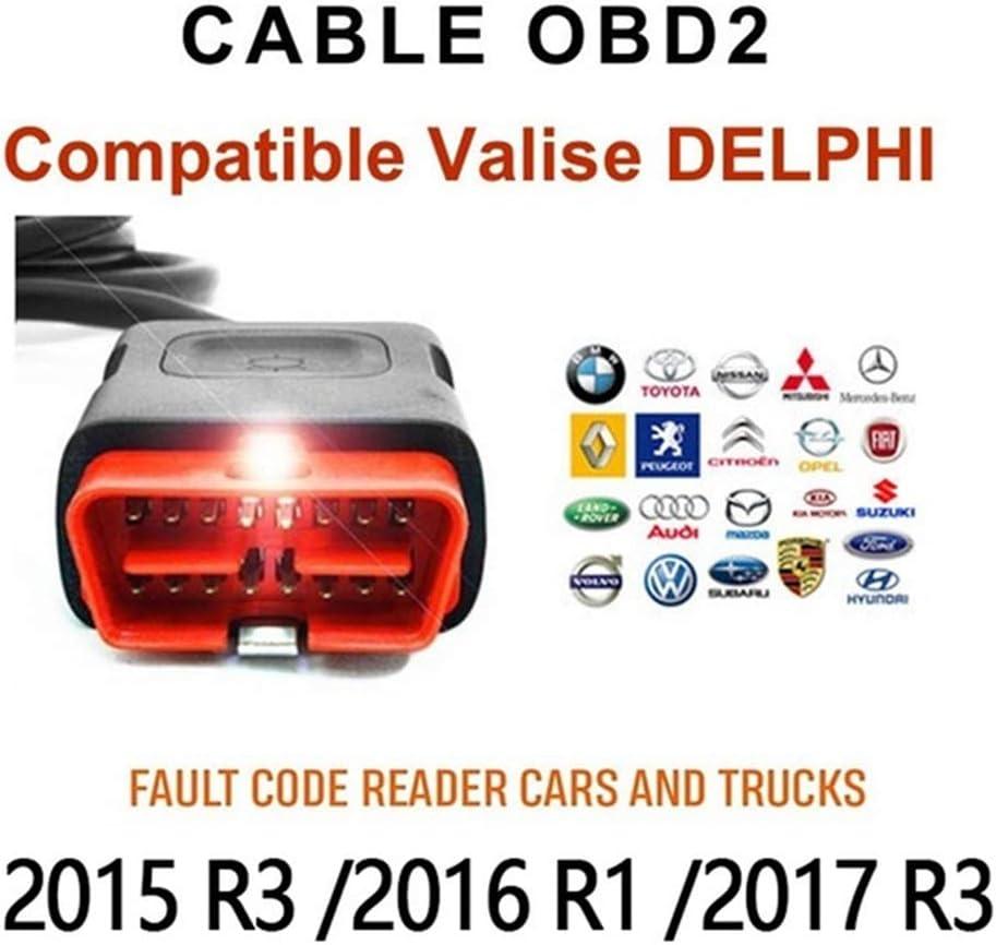 Xegood OBD2 8 pezzi strumento diagnostico per auto interfaccia OBD2 per Delphi ds150e per Autocom CDP Pro OBD2 cavo adattatore