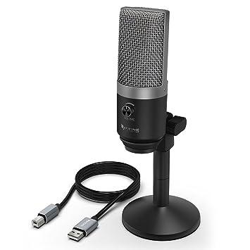 Amazon.com: Micrófono USB, Micrófono FIFINE para PC para Mac ...