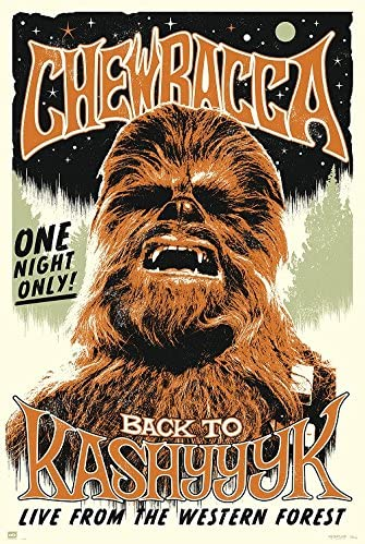 Star Wars Chewbacca Poster FREE US SHIPPING