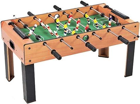 Mini SOCCER FOOSBALL Tabletop Game w// 2 balls wood grain finish score board NEW